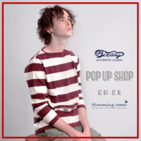 Tieasy AUTHENTIC CLASSIC  |  POP UP SHOP - Humming room