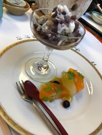 懐石料理のデザート - アルウェンとママの日記