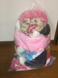 サイズアウトした子供服の断捨離 - ハツカネズミのごとく。