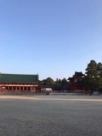 早朝の平安神宮とふたばとウエスティンの朝ごはん - 猫と、旅する猫用カメラ