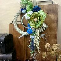 お正月飾りのワークショップ - double knit clover(ダブルニットクローバー) ブライダルフラワー 京王線
