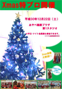 ★クリスマス特別プログラム開催します★ - 水夢のスタッフ日記