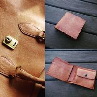 二つ折り財布 - YONABE