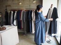 linenu works 作品展 vol.02-気持ちに添う服-はじまりました❤ - UTOKU Backyard