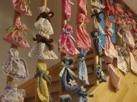 ベビー服でアドベンツカレンダー - ドイツで手作り田舎ぐらし