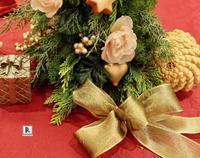 松屋銀座 「Christmas Wreath ・フラワーアレンジメントの体験会」 - Bouquets_ryoko