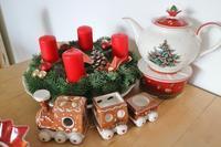 ビレロイボッホのクリスマスのティーポット&ウォーマー&深皿☆ - ドイツより、素敵なものに囲まれて②