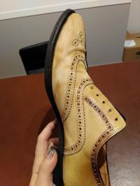 靴の染め替えについて - Shoe Care & Shoe Order 「FANS.浅草本店」M.Mowbray Shop