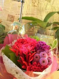 美しい花束 - eri-quilt日記3