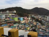 2018年12月釜山旅行②甘川文化村へ - 龍眼日記  Longan Diary