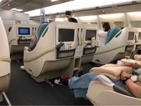 2018冬ハワイ☆大韓航空ビジネスクラス、往路の機内食。 - パルシステムのある生活♪