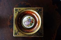 セラミックの絵付き木製額834 - スペイン・バルセロナ・アンティーク gyu's shop