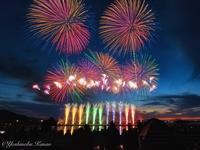 第31回やつしろ全国花火競技大会 - 写真ブログ「四季の詩」