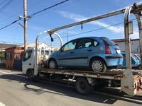 神奈川区からレッカー車で遺産相続の故障車を廃車の出張引き取りしました。 - 廃車戦隊引き取りレンジャー