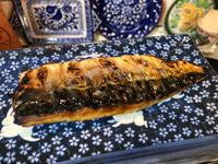 12月5日、焼き塩鯖、ターサイのオイスター炒め、白菜とベーコン煮 - 今夜のおかず
