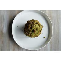 抹茶と白餡のクランブルマフィン - cuisine18 晴れのち晴れ