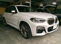 BMW X3(g01)スピーカー交換 - 静岡県静岡市カーオーディオ専門店のブログ