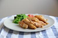 お昼ご飯〜手羽中のマーマレードしょうゆ煮〜 - 料理教室 あきさんち