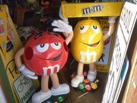 m&m's store display - OIL SHOCK ZAKKA