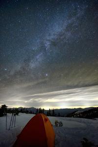 天然プラネタリウム - 人生山あり