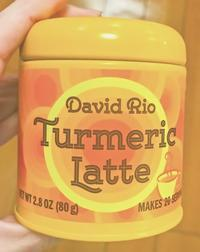 寒くなると温かい飲み物が欲しくなるから 【デビッドリオ ターメリックラテ】 - r_rammyのethnicだったり面白いものだったり