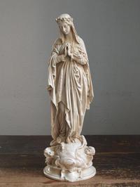 薔薇冠の聖母マリア - Glicinia 古道具店
