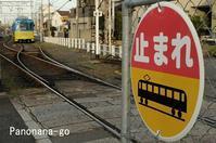 路面電車のはしる街~おっと、ご注意~ - ちょっくら、そのへんまで。な日常。