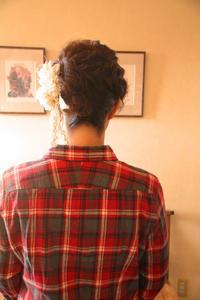 御祝いごと和風髪型着物着付け前撮りお詣り髪型ヘアアレンジ着物さくら市美容室エスポワール - 美容室エスポワール