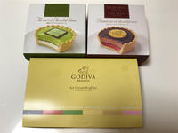 GODIVAのアイスクリーム - ふわふわ日記