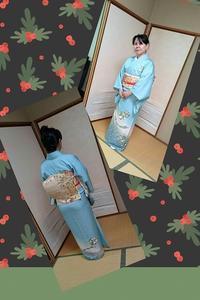 装いのコース☆長羽織と訪問着 - 山口下関市の着付け教室*出張着付け    はまゆうスタイル