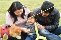 防寒対策 - 家族写真カメラマンはなちゃんの、幸せな花の咲かせ方