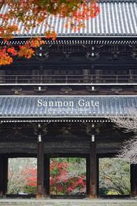 秋の山門 - for  someone