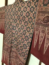 インド更紗スバギ羽織 - 中村かをる創作帯屋