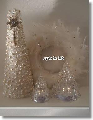 玄関はホワイトクリスマス - style in life