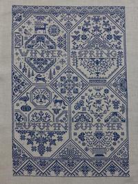 Modern Folk Embroidery SAL お終い - Point de X のこと