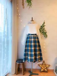 タータンチェックのスカート出来ました(*^^)v - Kacco(旧ハンドメイド雑貨 シュエット コピーヌ)