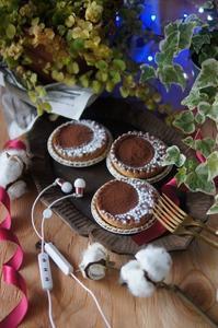 クリスマスチックにチョコタルトを撮影したいんだけど - The Lynne's MealtimesⅡ