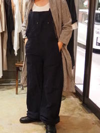 linenu works/salopette pants - UTOKU Backyard
