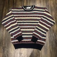 総柄ニット♪ - 「NoT kyomachi」はレディース専門のアメリカ古着の店です。アメリカで直接買い付けたvintage 古着やレギュラー古着、Antique、コーディネート等を紹介していきます。