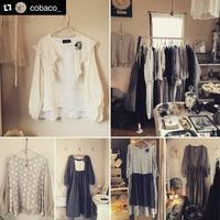 cobacoさんで、MIFUMI*お洋服受注販売会開催中♪ - MIFUMI*  Petite Couture Rie