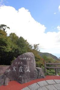 寒霞渓から、なかぶ庵へ - にゃお吉の高知競馬☆応援写真日記+α(高知の美味しいお店)