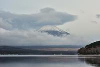 チラ見の富士山 - 風とこだま