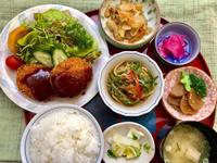 肉じゃがコロッケ★(^^♪・・・・・700円ランチ - 日だまりカフェ