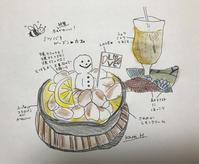 レモンクリームのスモアパンケーキ -山形ミツバチガーデンカフェ - - 続・まいにちわたし