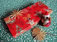 昔のクリスマスのギフト・ボックス -  Der Liebling ~蚤の市フリークの雑貨手帖2冊目~