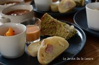 あこ酵母で抹茶マロンのクグロフ - 酵母の庭