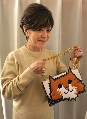 ルイ・ヴィトンのクルーズコレクションの猫Bag(!?)はすっごく可愛いー♪ - えなみ眞理子 ブログ Enamy's Style