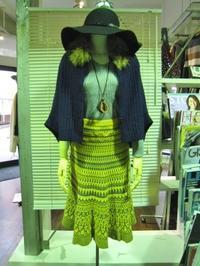 カラープリントスカートをメインに・・・ - BON-GOUT  blog