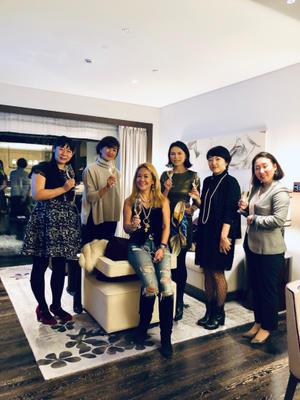 フォーシーズンズホテル京都でプレス会 - マダム松澤のクリスタルルーム