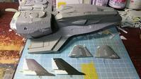 1209 - Hyper weapon models 模型とメカとクリーチャーと……